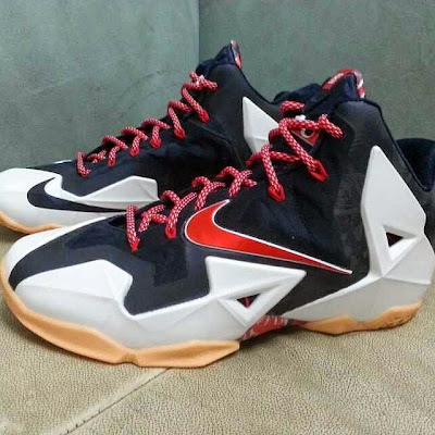 nike lebron 11 gr black white red mango 1 03 Possibly Upcoming New Nike LeBron 11 Mango