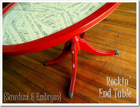 Rockin End Table