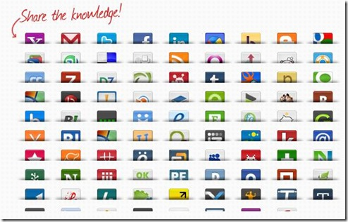 Social Bookmarking Widget