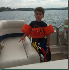 Jake on boat