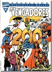 P00031 - Biblioteca Marvel - Avengers #31