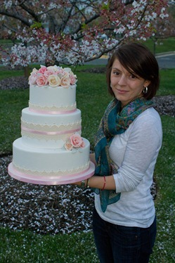 Sugar Rose Wedding Cake-13