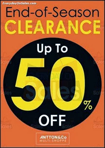 Antton & Co End of Season Clearance 2013 Malaysia Deals Offer Shopping EverydayOnSales