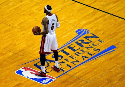 lebron james nba 140526 mia vs ind 09 game 4 King James Helps Miami Grab 3 1 Series Lead in New Soldier 7 PE