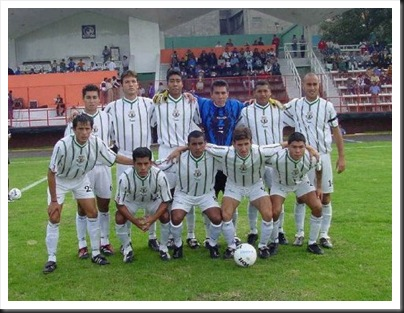 Atletico Yucatán 2001