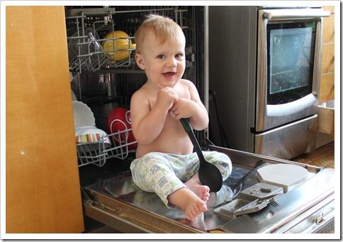 в посудомойке