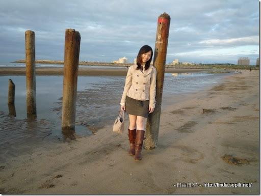 沙崙海水浴場-婚紗照地點重遊2