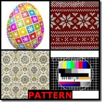 PATTERN- 4 Pics 1 Word Answers 3 Letters