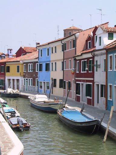 The way the buildings line the canal and stand like matches in a box, side by side, is truly unique to Venice. (travelandleisure.com)