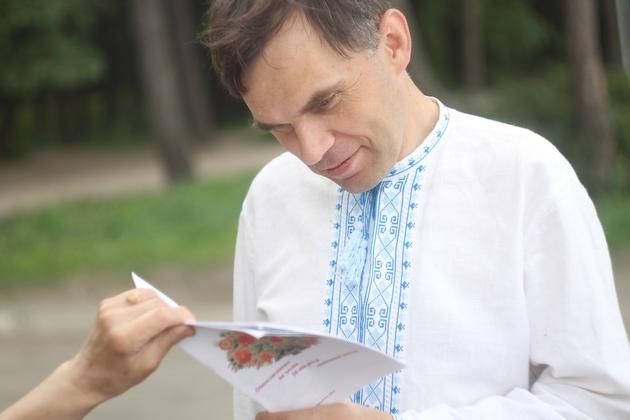 """Патріот Юрій Колісник: """"Все залежить не від вишиванки, а від того, що в людини в душі"""""""