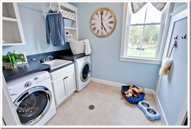 laundry-room-Decorating a Dream Home - www.sandandsisal.com