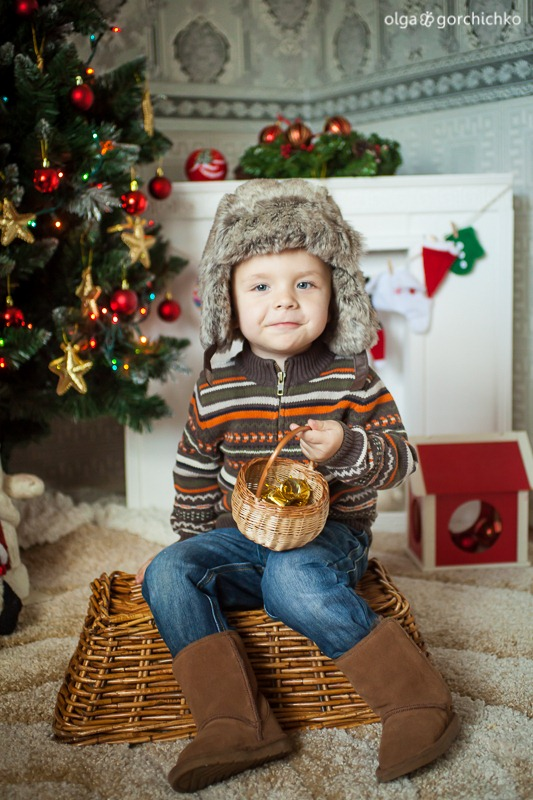 Детский новогодний фотопроект Рождественские мечты. 25. Андрюша-0490