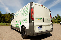Protean tested its wheel motors on the Vauxhall Vivaro at Millbrook in the UK