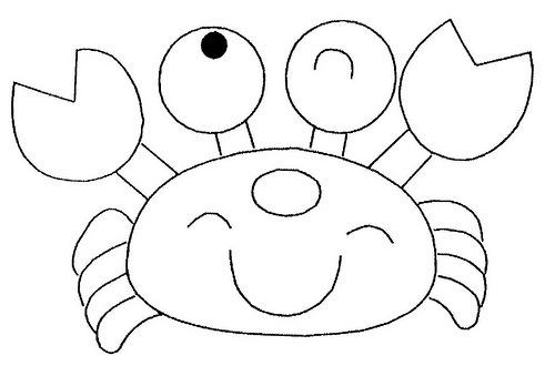 caranguejo-para-colorir