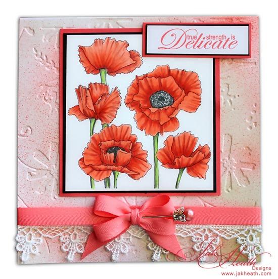 delicate poppy's