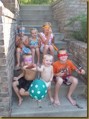 Six of our beautiful grandchildren Tyson, Curtis, Nate, Connor, Chloe and Kya