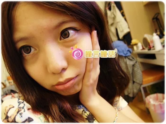 日本EOS隱形眼鏡-3D棒棒糖咖46533