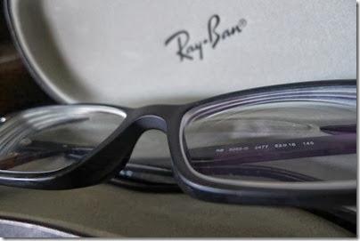 Ray-Ban non-glossy frame