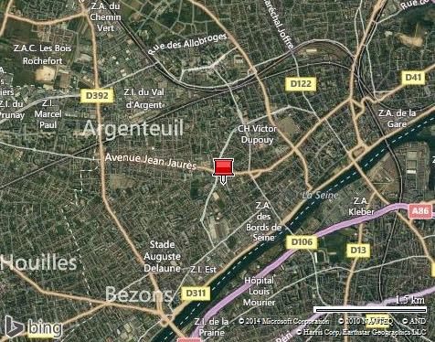 au sud Argenteuil