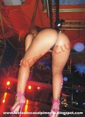 Sra Tatuí no pole dance
