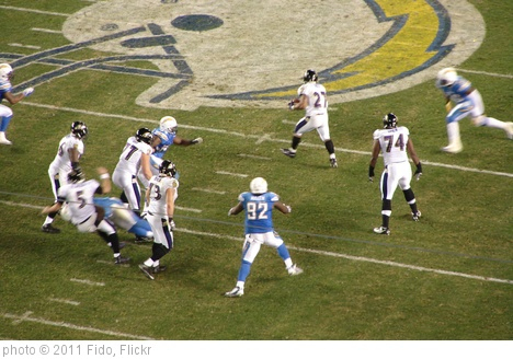 'Ravens@Chargers' photo (c) 2011, Fido - license: http://creativecommons.org/licenses/by/2.0/