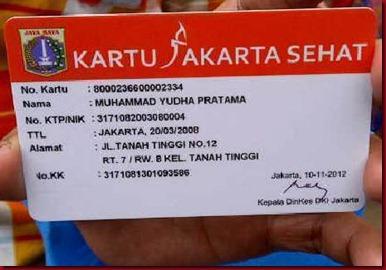 Pemaksaan Jokowi Untuk Kartu Jakarta Sehat KJS