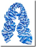 Bindya Ocean Brush Silk and Wool Scarf