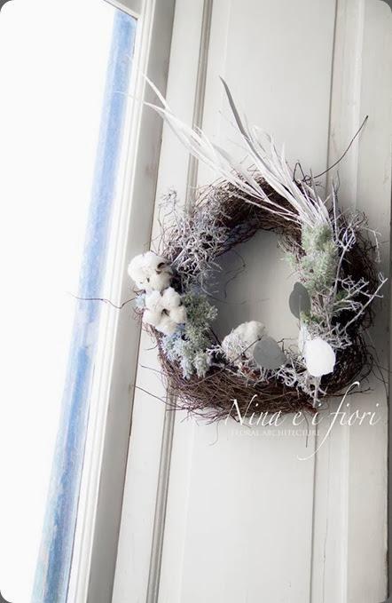 wreath 1480598_432641716837726_1292348954_n nina e i fiori