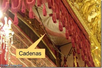 Cadenas de Navarra en el Palacio de la Diputación