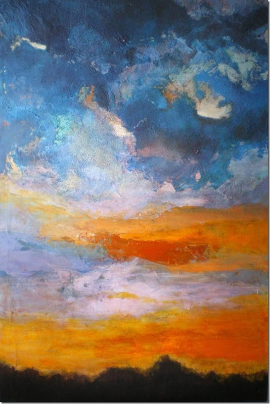 Serie nubes IV-Pasku
