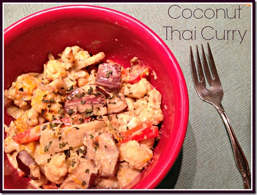 Coconut Thai Curry