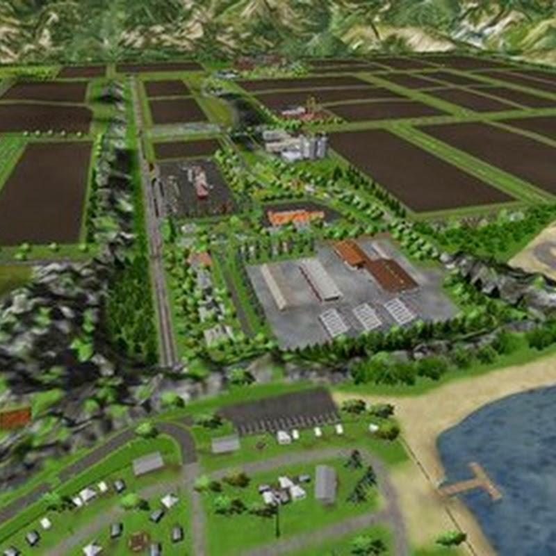 Farming simulator 2013 - TripleFarming Map v 2.1