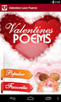 Screenshot of Valentine's Love Poems