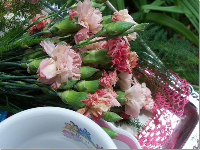 Carnation tea tray 012