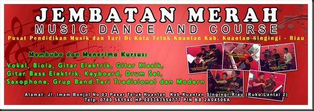 Banner Jembatan Merah Music & Dance Course (JMMDC) 2