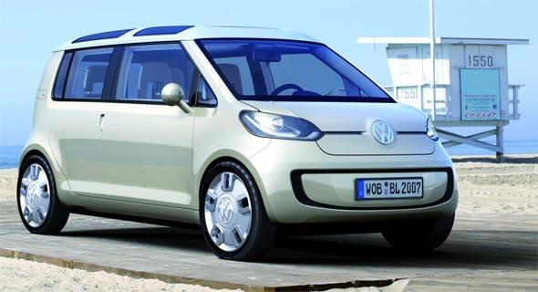 Frente da Nova Kombi da Volkswagem que deverá ser lançado em 2013