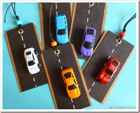 Car gift tag. car gift tags