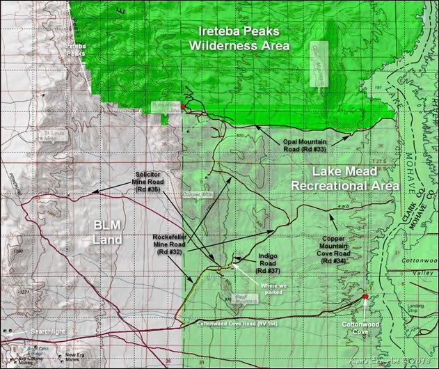 MAP-Ireteba Peak Range