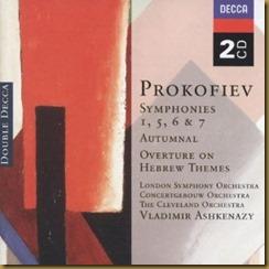 Prokofiev Sinfonía Clásica Ashkenazy