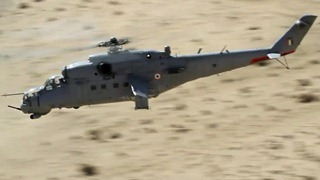 Indian Air Force [IAF] photograph - Mil Mi-35