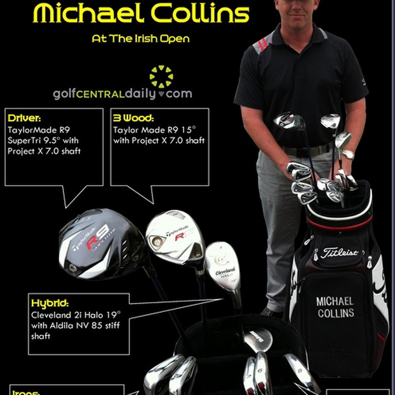 What's In The Bag 2011 Michael Collins at The Irish Open