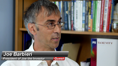 guest Joe Barbieri on Tea At Taxevity