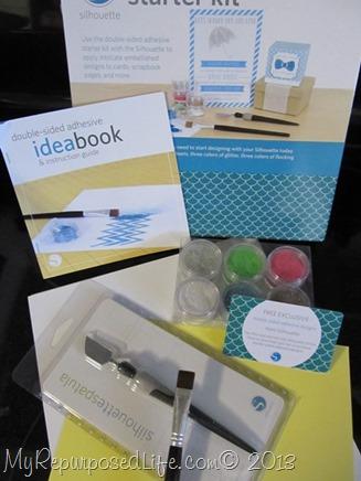 silhouette adhesive starter kit