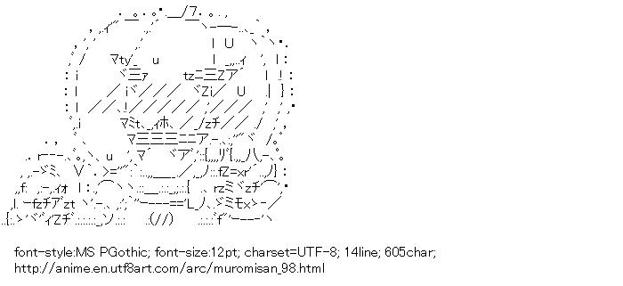 [AA]Yeti Halloween (Namiuchigiwa no Muromi-san)