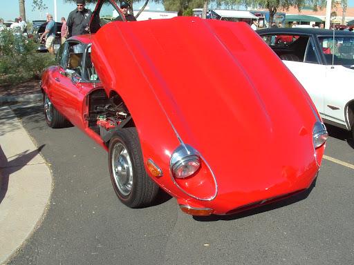 1971 Jaguar E-Type V-12 Coupe