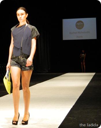 Rachel Nicholaidis - AGFW Fashion Show (4)
