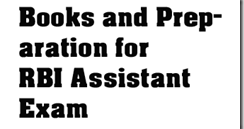 RBI Assistant best books and Preparation ~ IBPSExamGuru