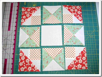 Morning Star Variation step 6