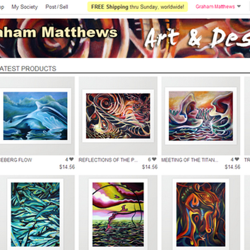 Society6 – Review of Features for Illustrators, Designers and Artists