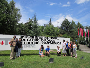 'A visit to the Museum of the International Red Cross and Red Crescent' Photo by Vivian Yela